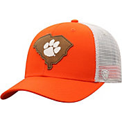 Top of the World Men's Clemson Tigers Orange/Grey Precise Trucker Adjustable Hat