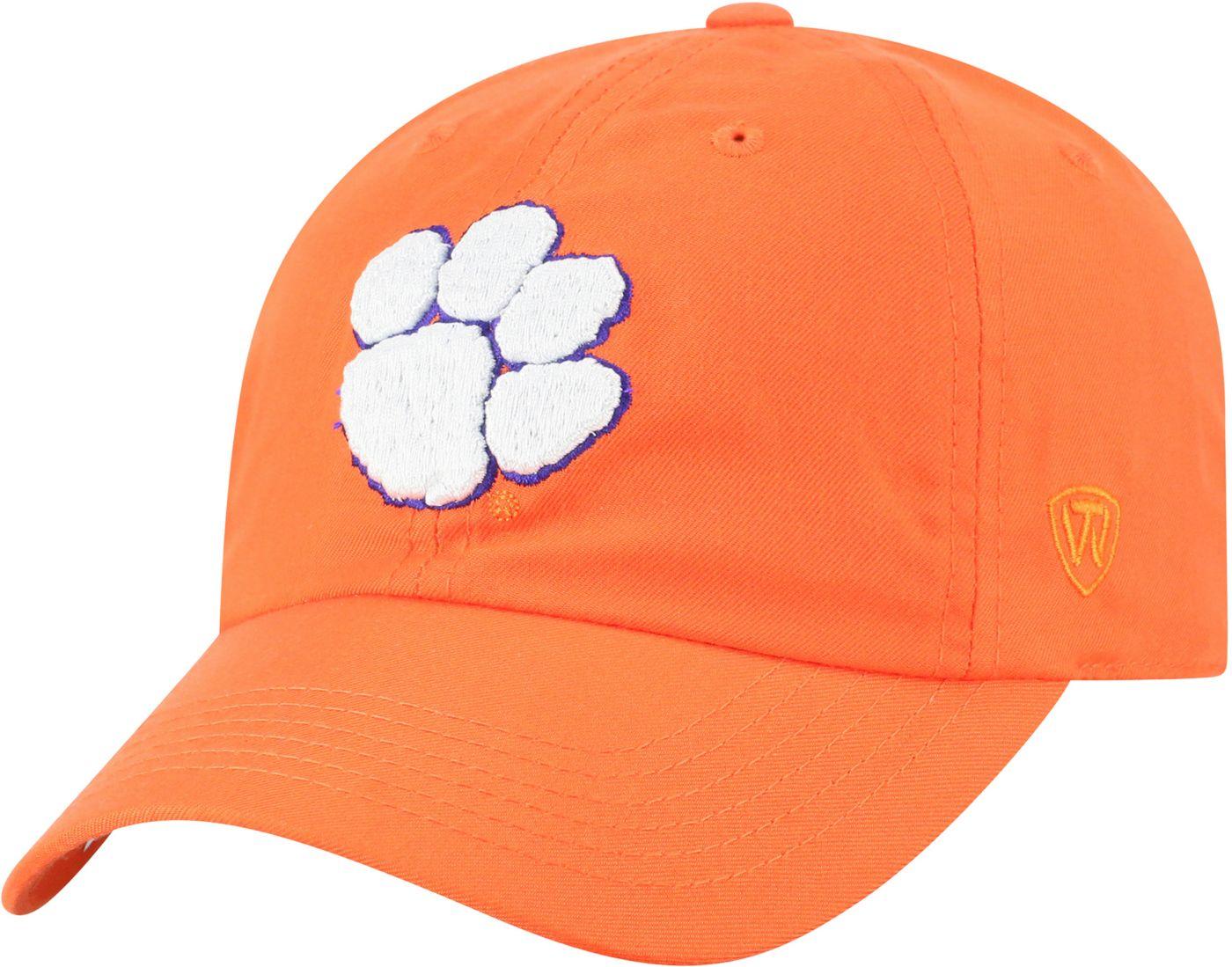 Top of the World Men's Clemson Tigers Orange Staple Adjustable Hat