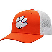 Top of the World Men's Clemson Tigers Orange/White Trucker Adjustable Hat