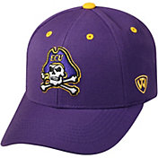 Top of the World Men's East Carolina Pirates Purple Triple Threat Adjustable Hat