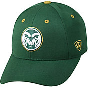 Top of the World Men's Colorado State Rams Green Triple Threat Adjustable Hat