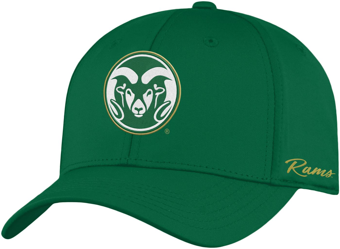 Top of the World Men's Colorado State Rams Green Phenom 1Fit Flex Hat