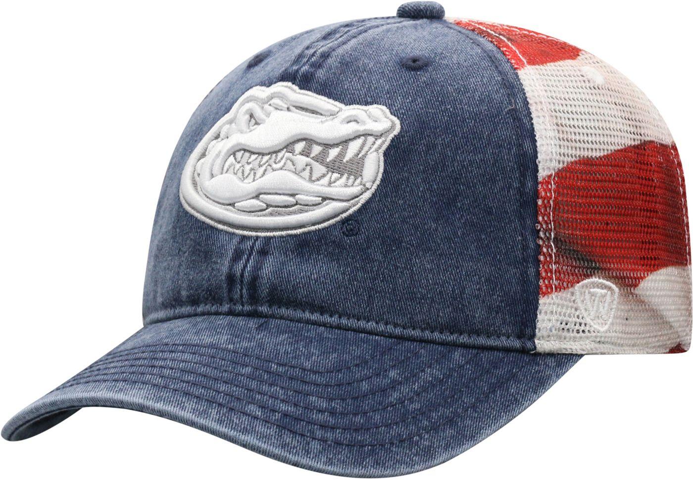 Top of the World Men's Florida Gators Flag Adjustable Hat