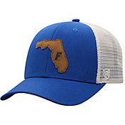 Top of the World Men's Florida Gators Blue/Grey Precise Trucker Adjustable Hat