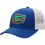 Top of the World Men's Florida Gators Blue/White Trucker Adjustable Hat