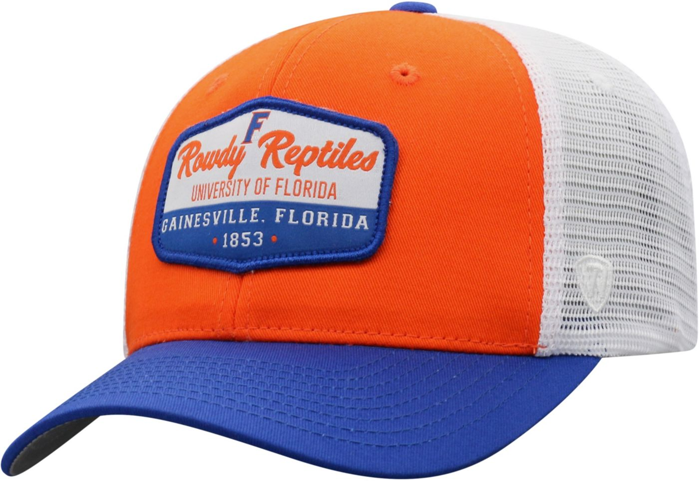 Top of the World Men's Florida Gators Orange/Blue/White Verge Adjustable Hat