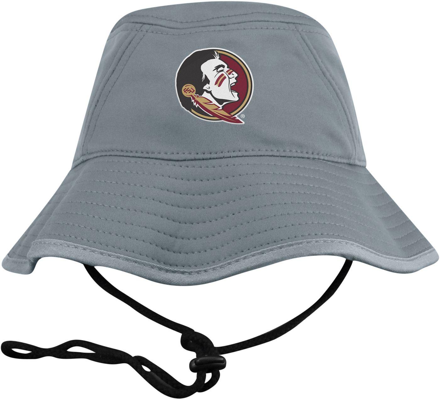 Top of the World Men's Florida State Seminoles Grey Bucket Hat