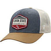 Top of the World Men's Florida State Seminoles Grey/Brown/White Wild Adjustable Hat