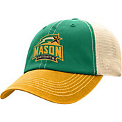Top of the World Men's George Mason Patriots Green/White Off Road Adjustable Hat