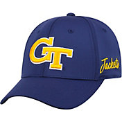 Top of the World Men's Georgia Tech Yellow Jackets Navy Phenom 1Fit Flex Hat