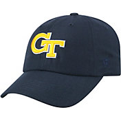 Top of the World Men's Georgia Tech Yellow Jackets Navy Staple Adjustable Hat