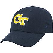 Top of the World Men's Georgia Tech Yellow Jackets Navy Staple Adjustable Hat