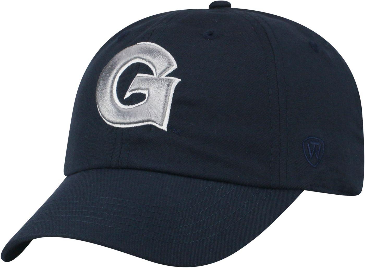 Top of the World Men's Georgetown Hoyas Blue Staple Adjustable Hat