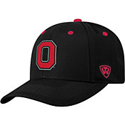 Top of the World Men's Ohio State Buckeyes Triple Threat Adjustable Black Hat