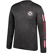 Scarlet & Gray Men's Ohio State Buckeyes Choice Long Sleeve Black T-Shirt