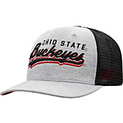 Top of the World Men's Ohio State Buckeyes Grey/Black Cutter Adjustable Hat