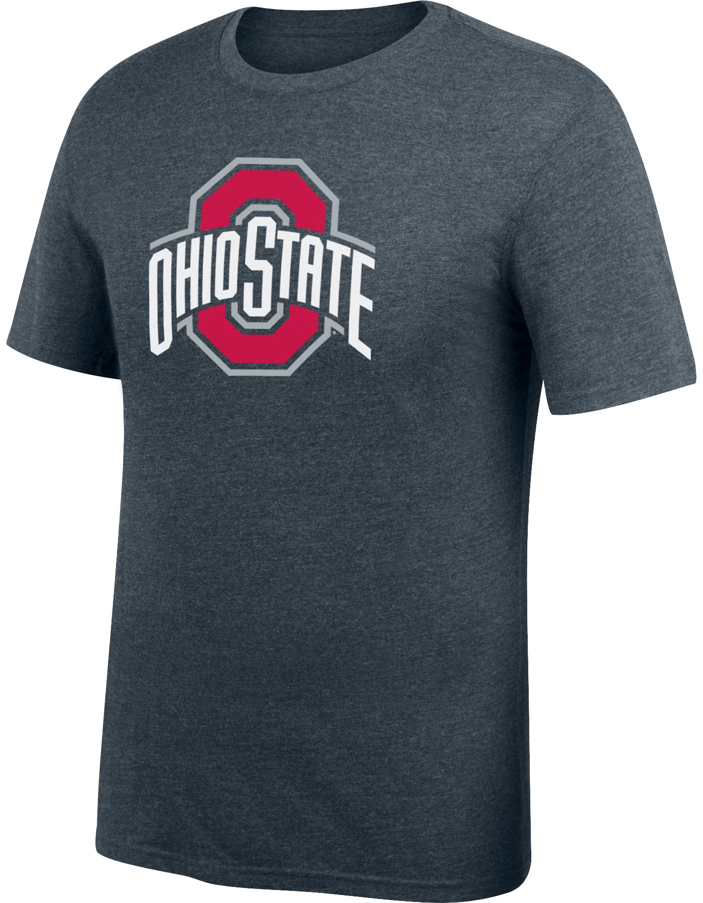 Scarlet & Gray Men's Ohio State Buckeyes Gray T-Shirt