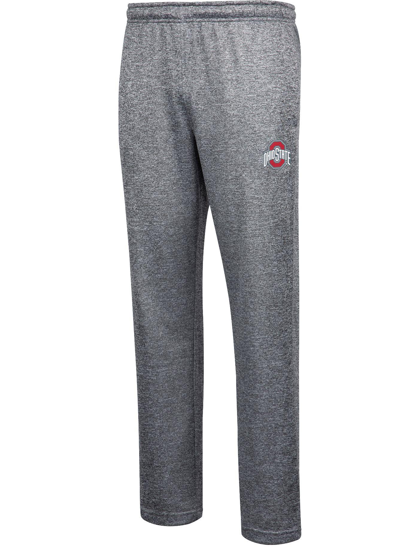 Scarlet & Gray Men's Ohio State Buckeyes Gray Match-Up Pants
