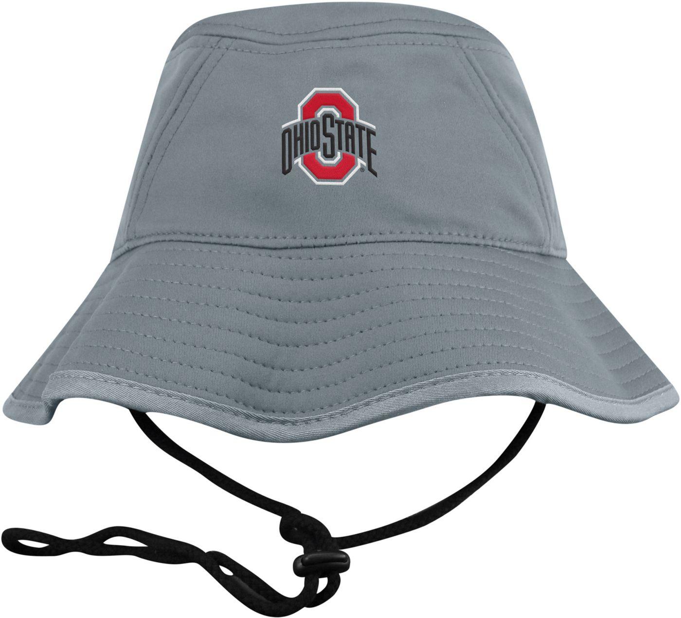 Top of the World Men's Ohio State Buckeyes Grey Bucket Hat