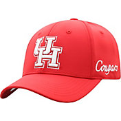 Top of the World Men's Houston Cougars Red Phenom 1Fit Flex Hat