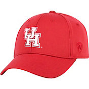 Top of the World Men's Houston Cougars Red Premium 1Fit Flex Hat