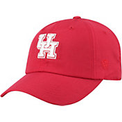 Top of the World Men's Houston Cougars Red Staple Adjustable Hat
