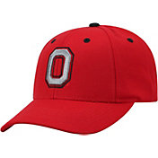 Top of the World Men's Ohio State Buckeyes Scarlet Triple Threat Adjustable Hat