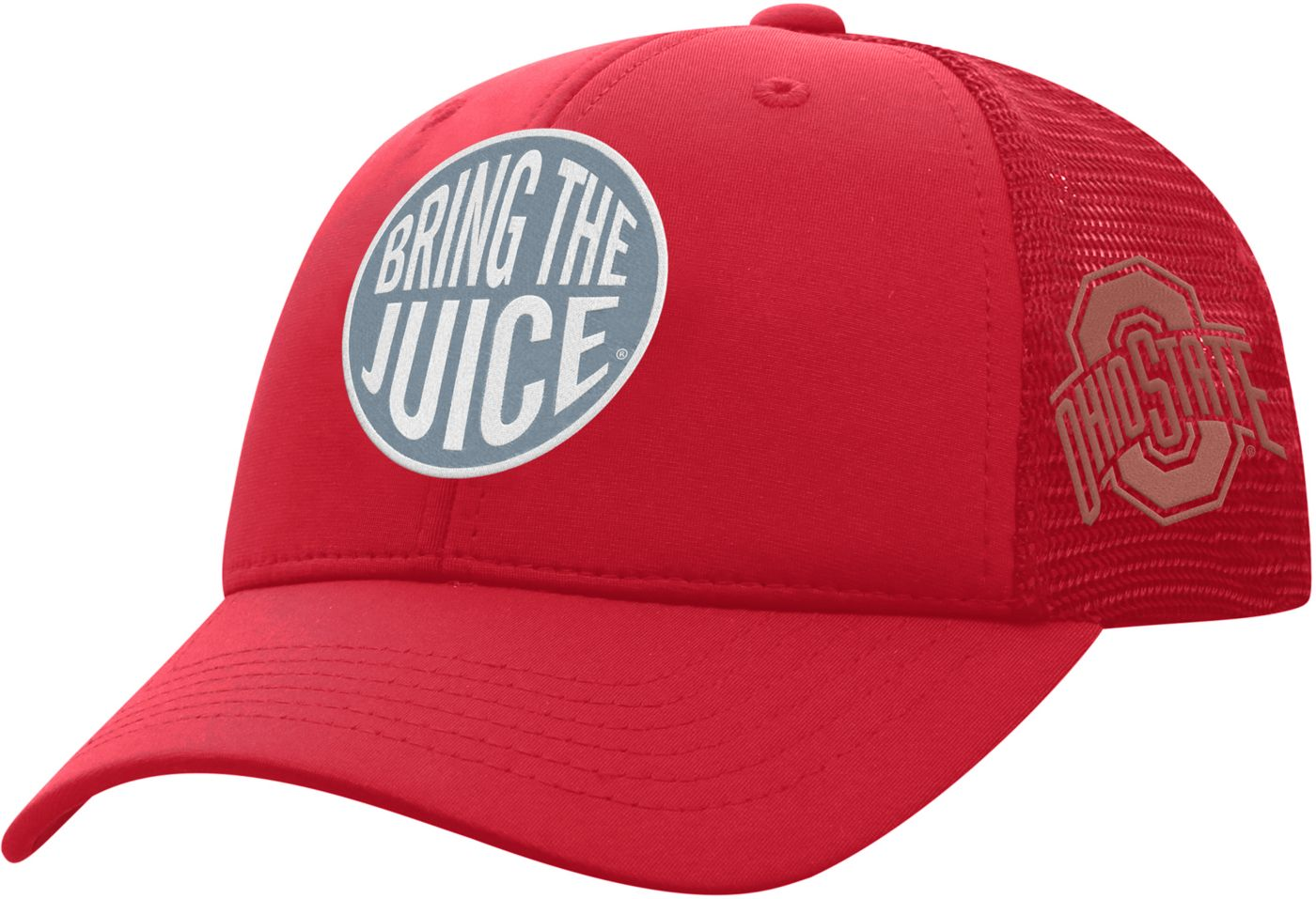 Top of the World Youth Ohio State Buckeyes Scarlet Ace Adjustable Hat