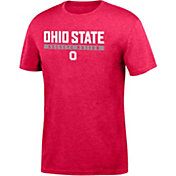 Scarlet & Gray Men's Ohio State Buckeyes Scarlet Chrome Slogan T-Shirt