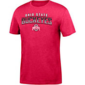 Scarlet & Gray Men's Ohio State Buckeyes Scarlet Chrome T-Shirt
