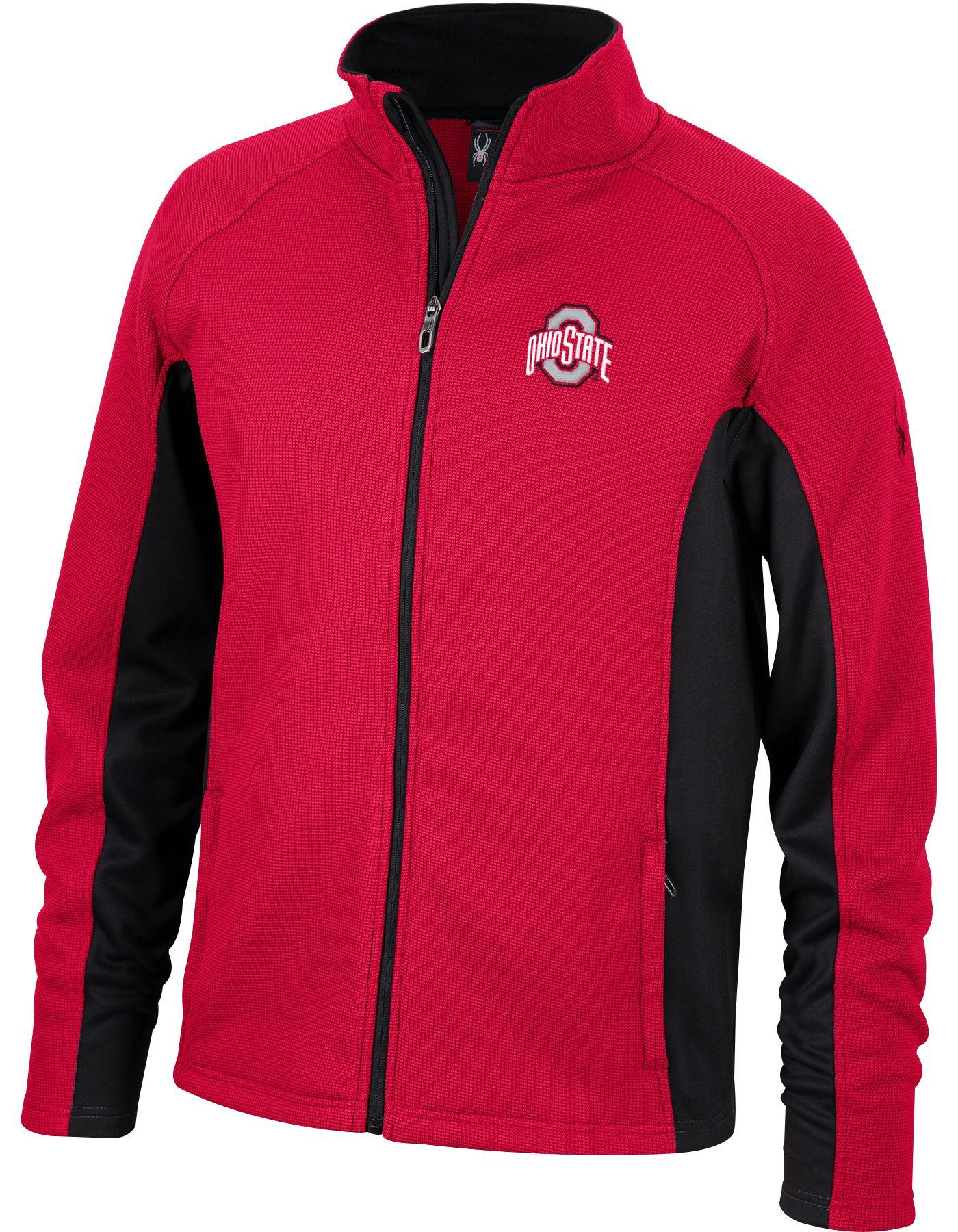 Spyder Men's Ohio State Buckeyes Scarlet Constant Full-Zip Fleece Jacket