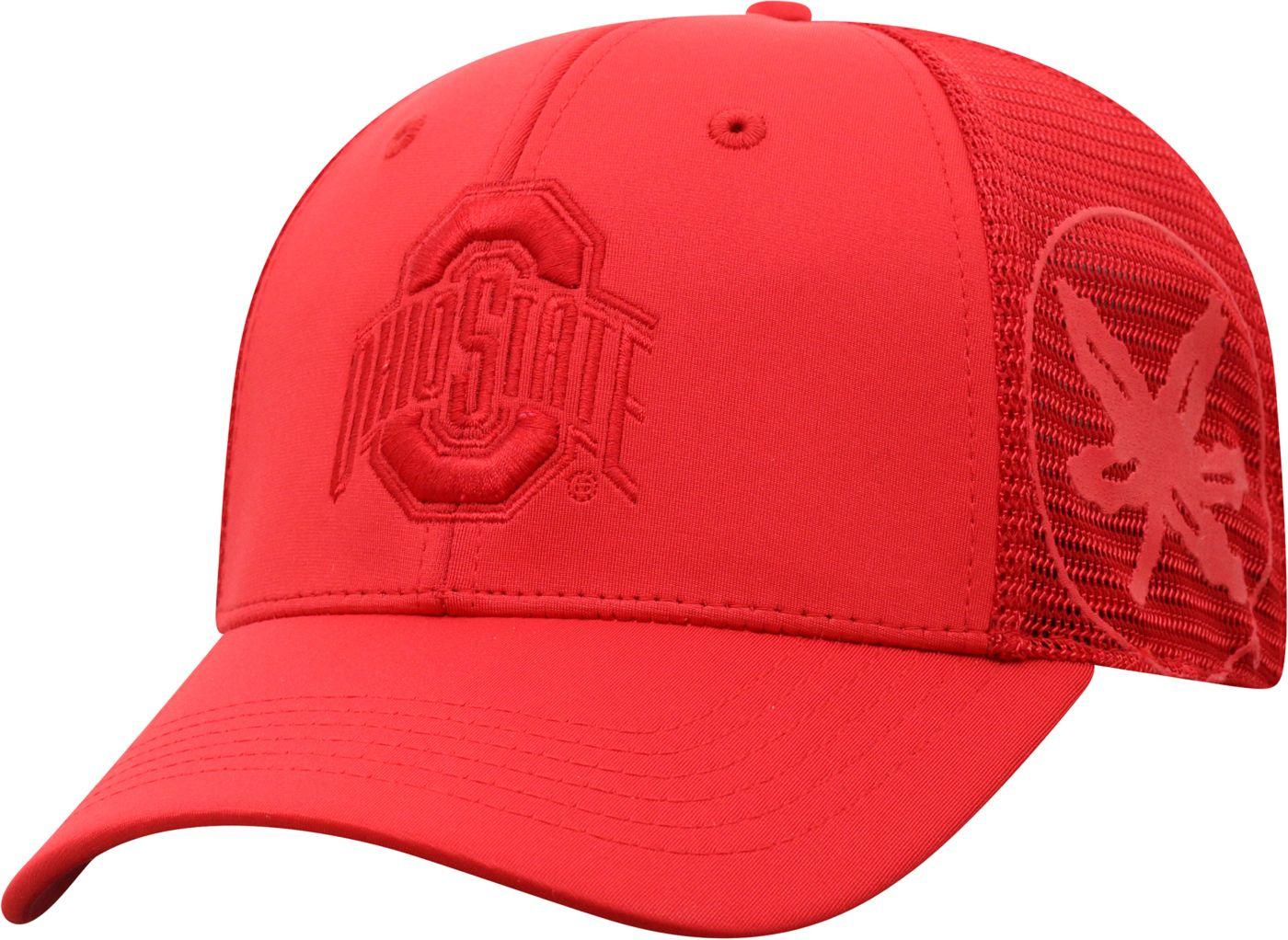 Top of the World Men's Ohio State Buckeyes Scarlet Dayblaster 1Fit Flex Hat