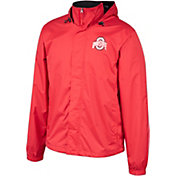 Scarlet & Gray Men's Ohio State Buckeyes Scarlet Outer Limits Full-Zip Hooded Jacket
