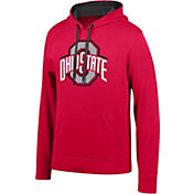 Scarlet & Gray Men's Ohio State Buckeyes Scarlet Foundation Poly Hoodie