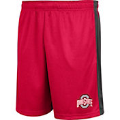 Scarlet & Gray Men's Ohio State Buckeyes Scarlet Endline Shorts
