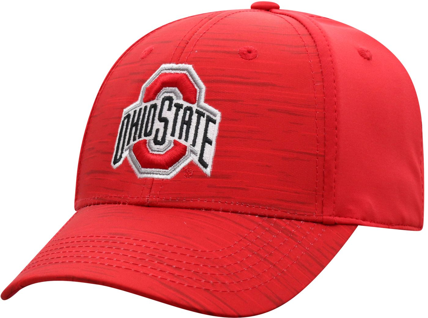 Top of the World Men's Ohio State Buckeyes Scarlet Intrude 1Fit Flex Hat