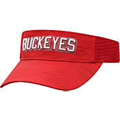 Top of the World Men's Ohio State Buckeyes Scarlet Intrude Visor