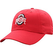 Top of the World Men's Ohio State Buckeyes Scarlet Staple Adjustable Hat