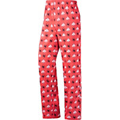 Scarlet & Gray Men's Ohio State Buckeyes Scarlet Team Lounge Pants
