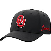 Top of the World Men's Oklahoma Sooners Phenom 1Fit Flex Black Hat
