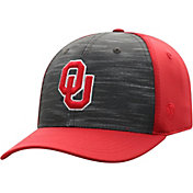 Top of the World Men's Oklahoma Sooners Grey/Crimson Pepper 1Fit Flex Hat