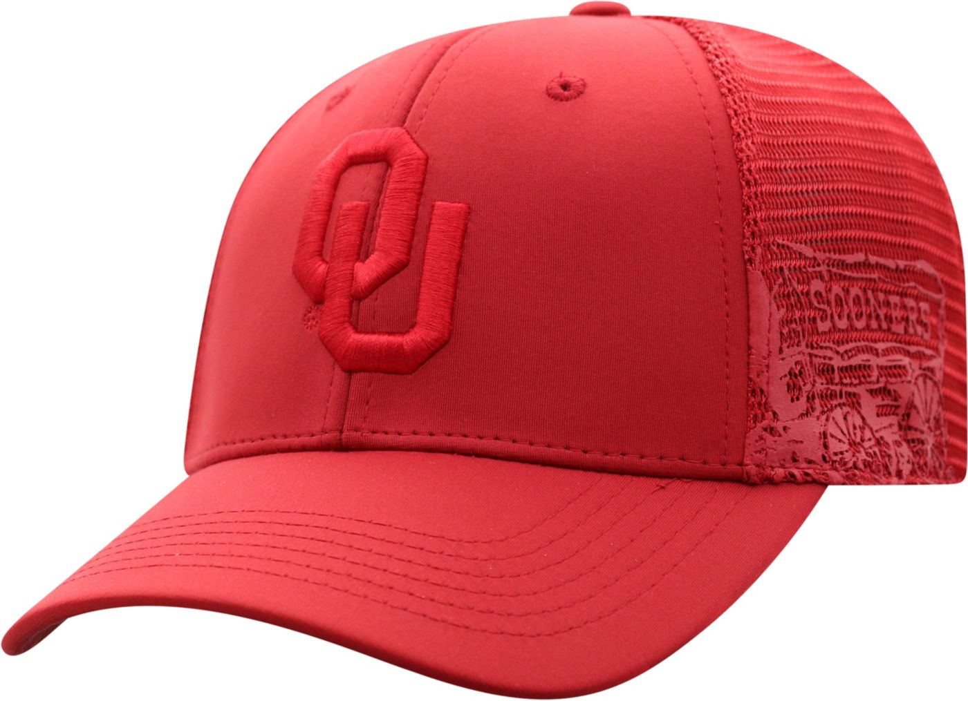 Top of the World Men's Oklahoma Sooners Crimson Dayblaster 1Fit Flex Hat