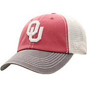 Top of the World Men's Oklahoma Sooners Crimson/White Off Road Adjustable Hat