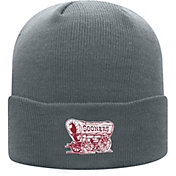 Top of the World Men's Oklahoma Sooners Grey Cuff Knit Beanie
