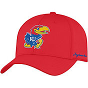 Top of the World Men's Kansas Jayhawks Crimson Phenom 1Fit Flex Hat