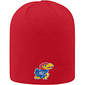 Top of the World Men's Kansas Jayhawks Crimson Classic Knit Beanie