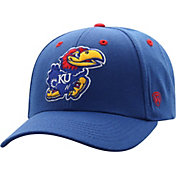 Top of the World Men's Kansas Jayhawks Blue Triple Threat Adjustable Hat