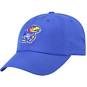 Top of the World Men's Kansas Jayhawks Blue Staple Adjustable Hat
