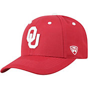 Top of the World Men's Oklahoma Sooners Crimson Triple Threat Adjustable Hat