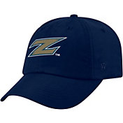 Top of the World Men's Akron Zips Navy Staple Adjustable Hat